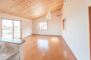 巾木を床の色に合わせた例の写真