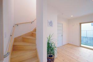 折れ階段の例の写真