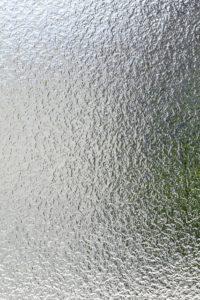 型板ガラスの写真