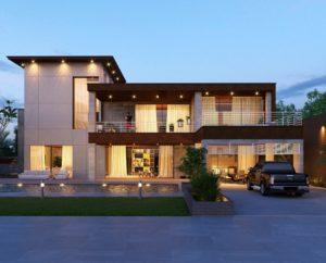 鉄筋コンクリート造の住宅のイメージ写真